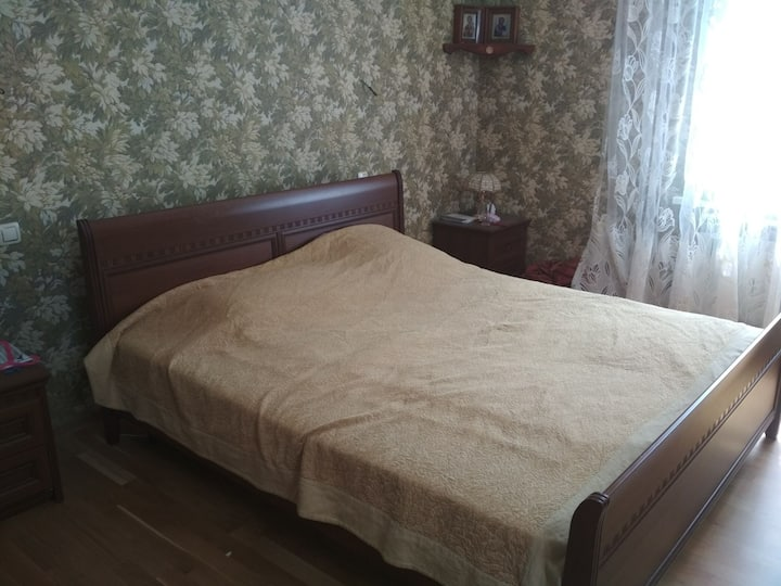 Две комнаты для большой семьи (до 6 человек)