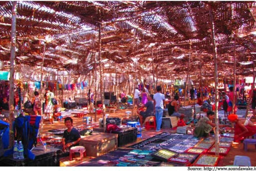 Anjuna Flee Market - Goa