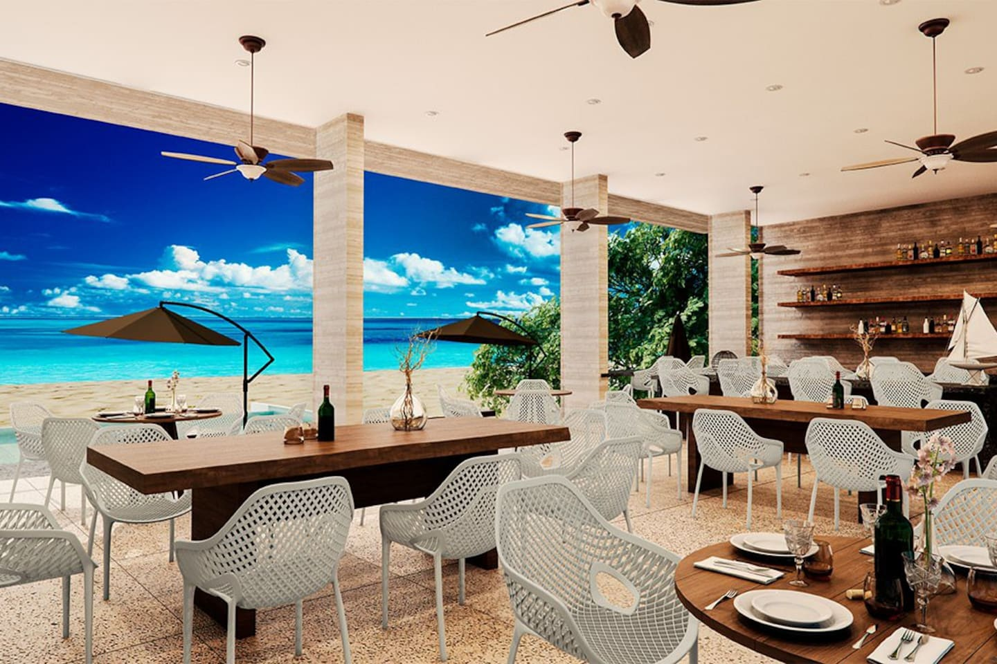 Exclusive Beach Club for Tao Owner and Guests