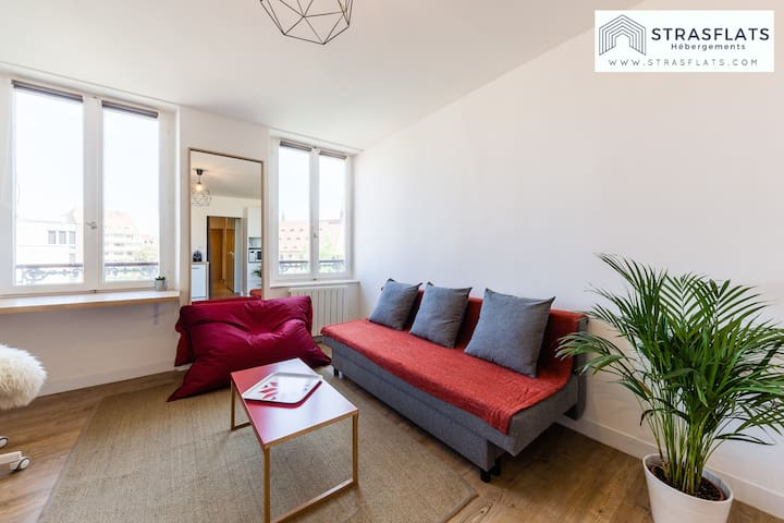 Appartement Olympe - Quartier Petite France/Gare