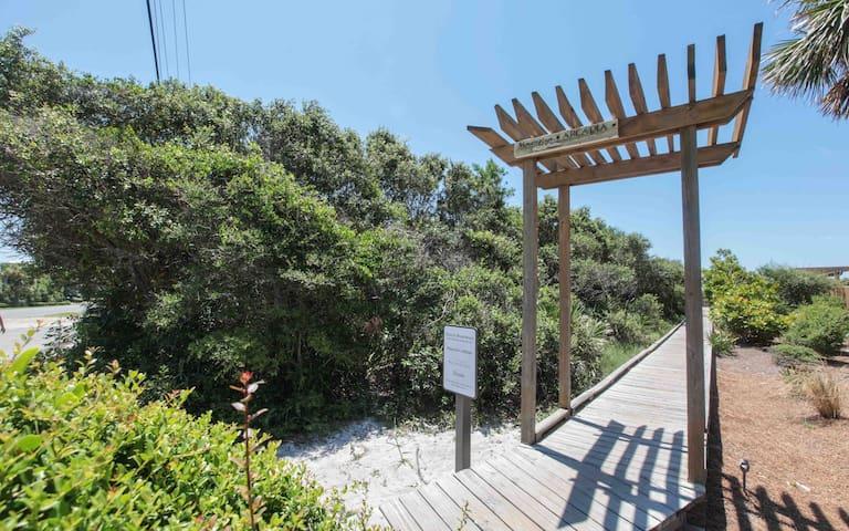 Arcadia Place Beach Access entrance