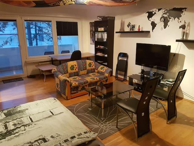 Gemütliche 44qm Wohnung mit Balkon und Garage