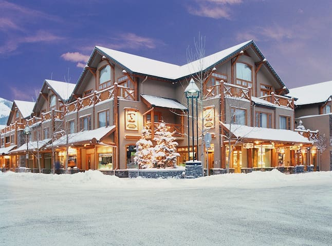 Located in downtown Banff, close to restaurants, shopping, nightlife