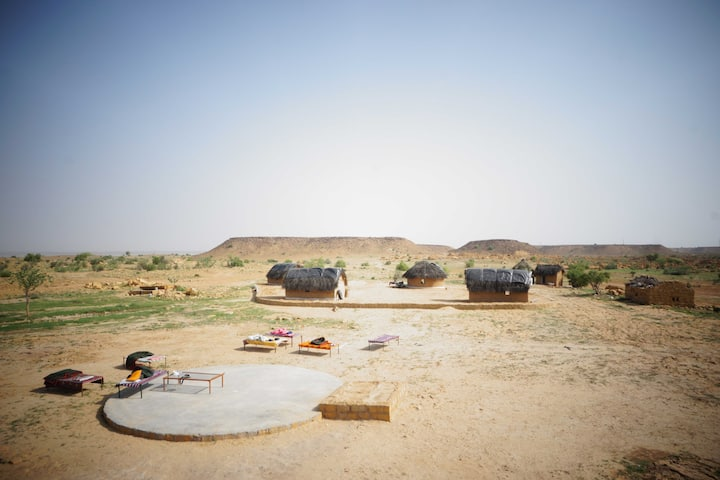 Private Huts @ Mala Ki Dhani village, Jaisalmer
