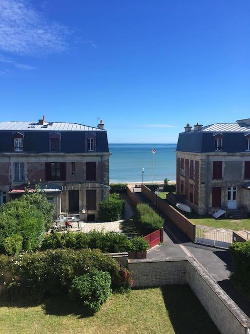 bord de mer confortable normandie appartements louer saint aubin sur mer basse normandie. Black Bedroom Furniture Sets. Home Design Ideas