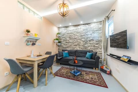 Cvita, brand new apartment with garden and parking