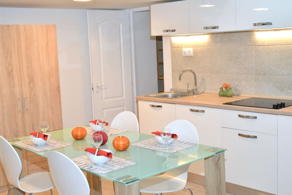 Fully equipped kitchen to feel at home