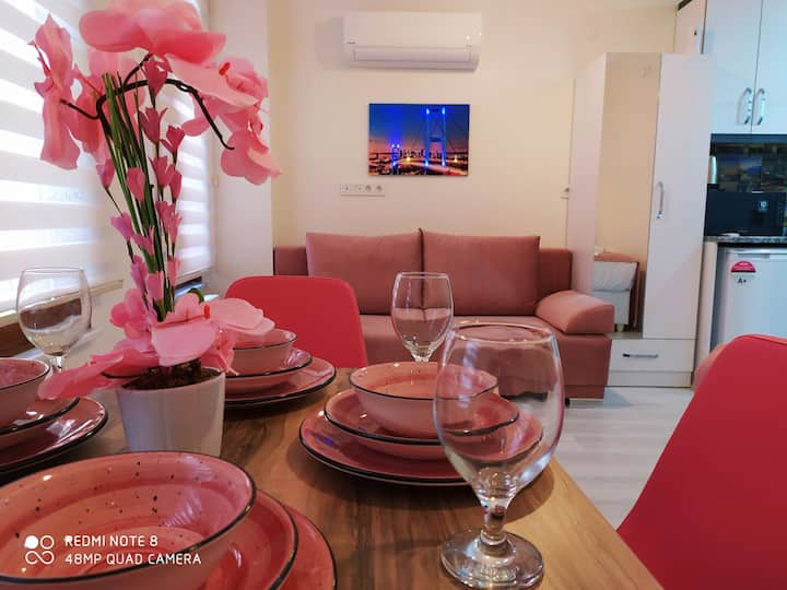PERA FLOWER PİNK HOUSE İN TAKSİM(NO STAİRS )