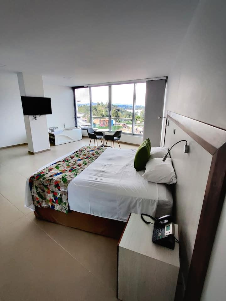 Santorini - habitación con jacuzzi