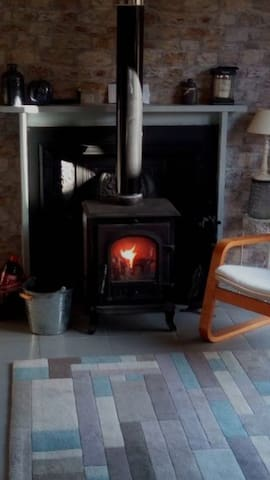 Lovely coal fire for these winter evenings
