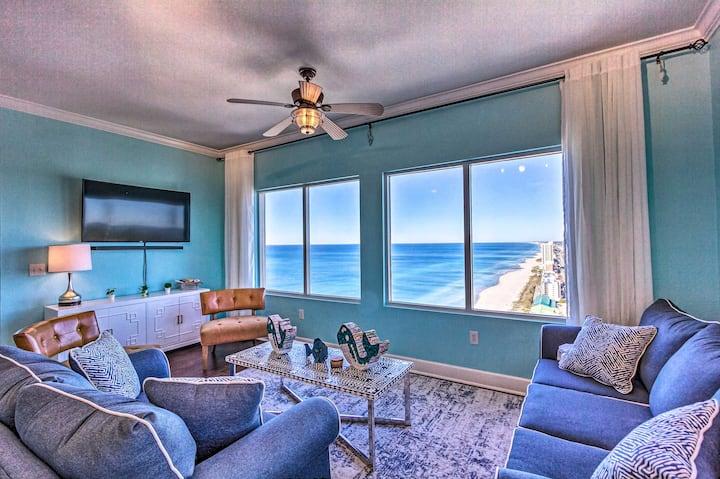 NEW! Beachfront Resort Condo w/ Gulf Coast Views!