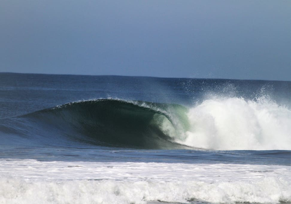Perfect uncrowded waves.
