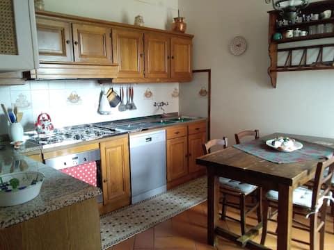 Appartamento comodo e spazioso nel Chianti