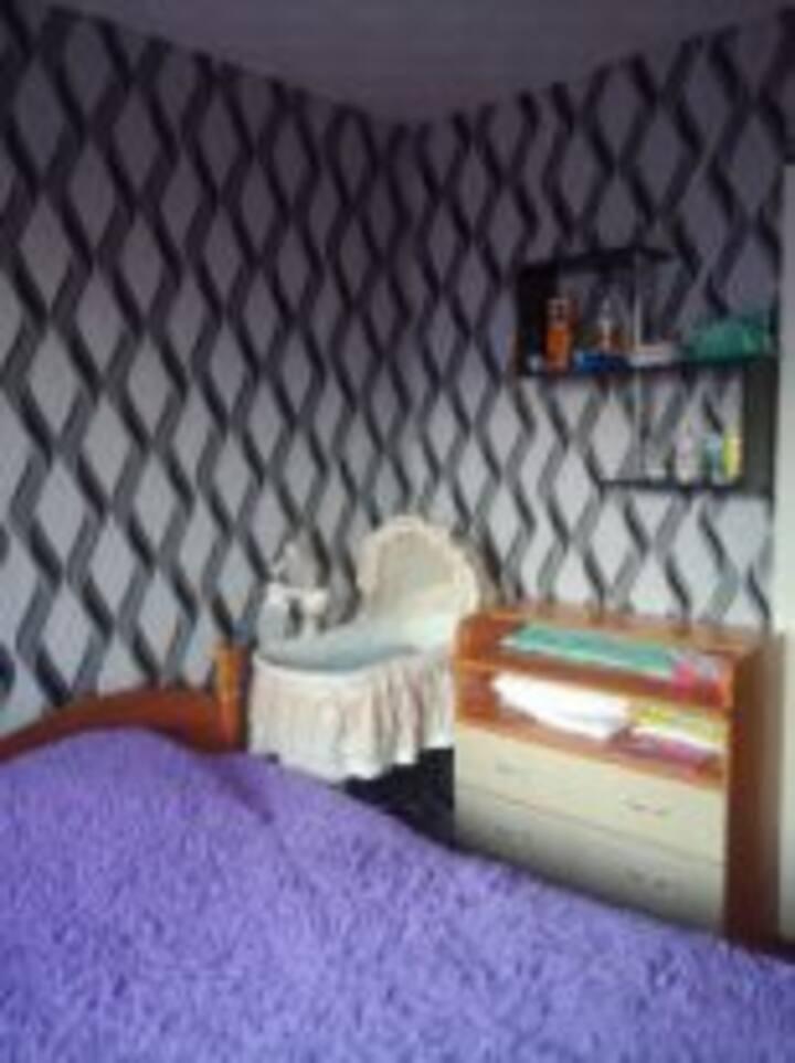 уютная 3х комнатная квартира