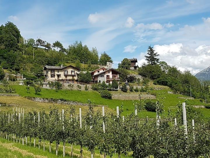 Casale delle Alpi - Saint-Pierre (6 km da Aosta)