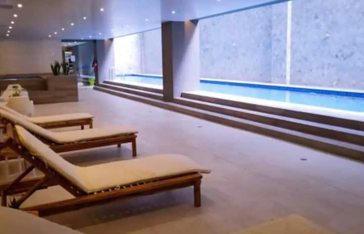 Piscina+ Jacuzzi+ Turco+ Sauna+ Luxury Department