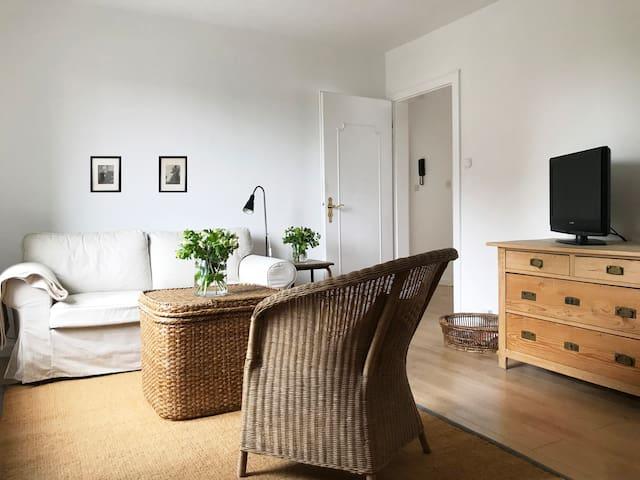 Stilvolles helles Apartment, ruhig & zentrale Lage