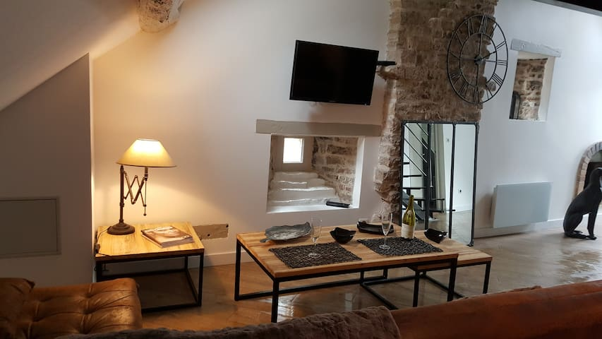 Loft in the City - Beaune - Huoneisto