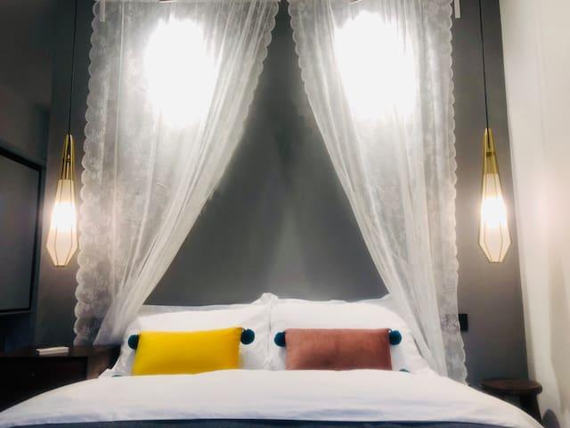 这是王子和他的公主住的床哦