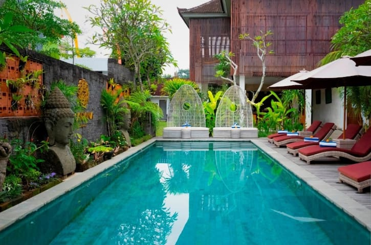 Deluxe resort in Ubud