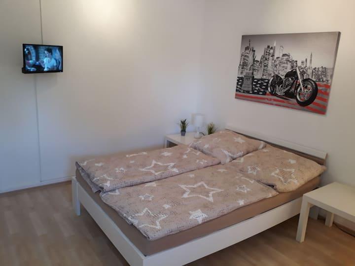(1)Ruhig gelegene Zimmer am Bikertreff Nordkirchen