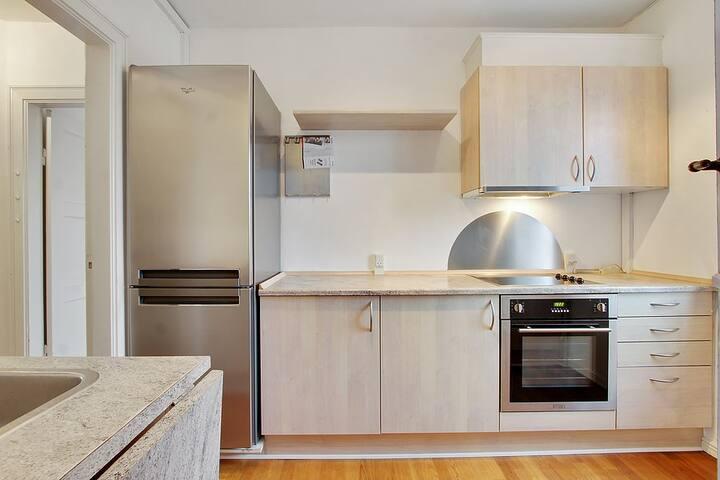 2 værelses lejlighed på 59 m²