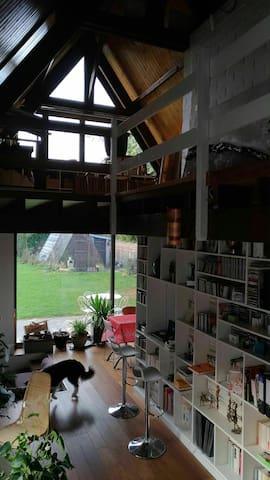 Chambre privée dans une jolie maison à la campagne