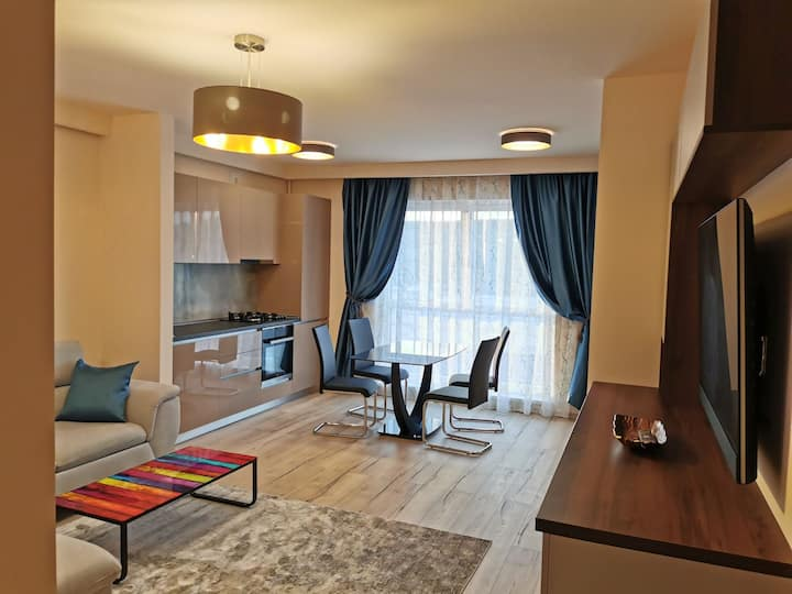 Apartment near Ametyst Clinique and Vivo Cluj