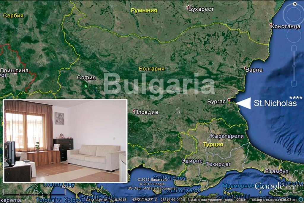 южное побережье Болгарии