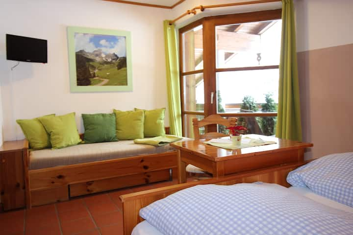 "Double Room "" Haus Bergliebe "" 2-3-person"