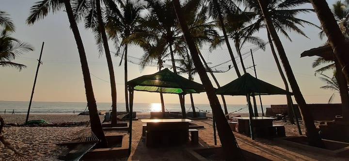 SaiRaj Beach Resort Sea Facing Room  Ground Floor