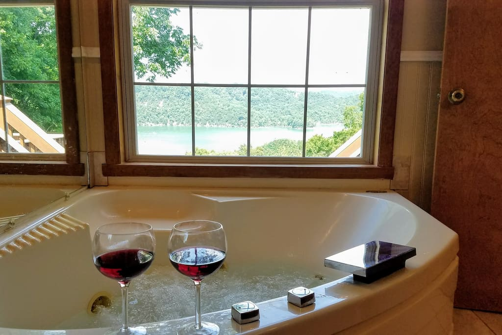 View from Master Suite Jacuzzi