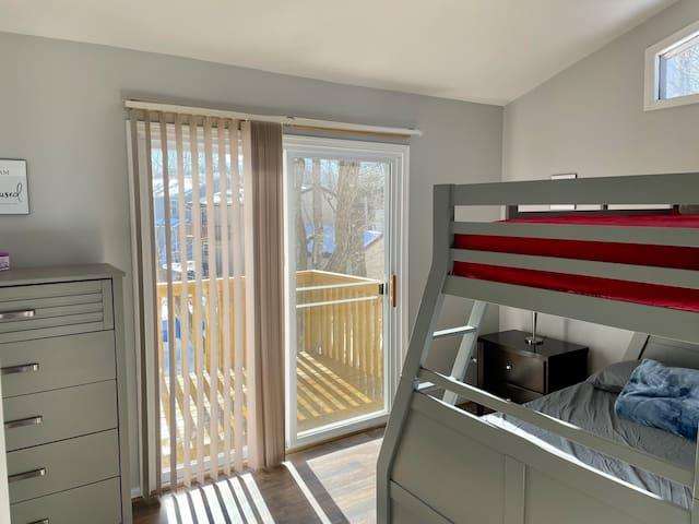 Bedroom 2 on 2nd floor.