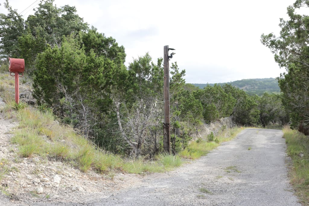 Entrance to 10 acre property