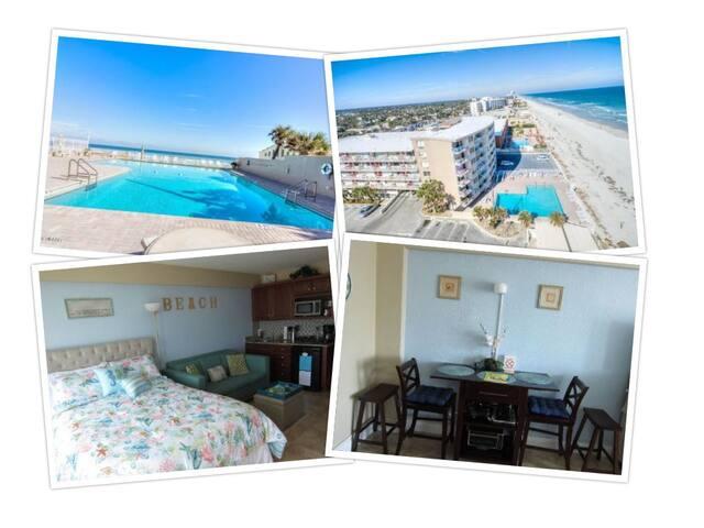 OCEAN VIEW STUDIO-DAYTONA BEACH BEST SUMMER RATES - Daytona Beach - Byt