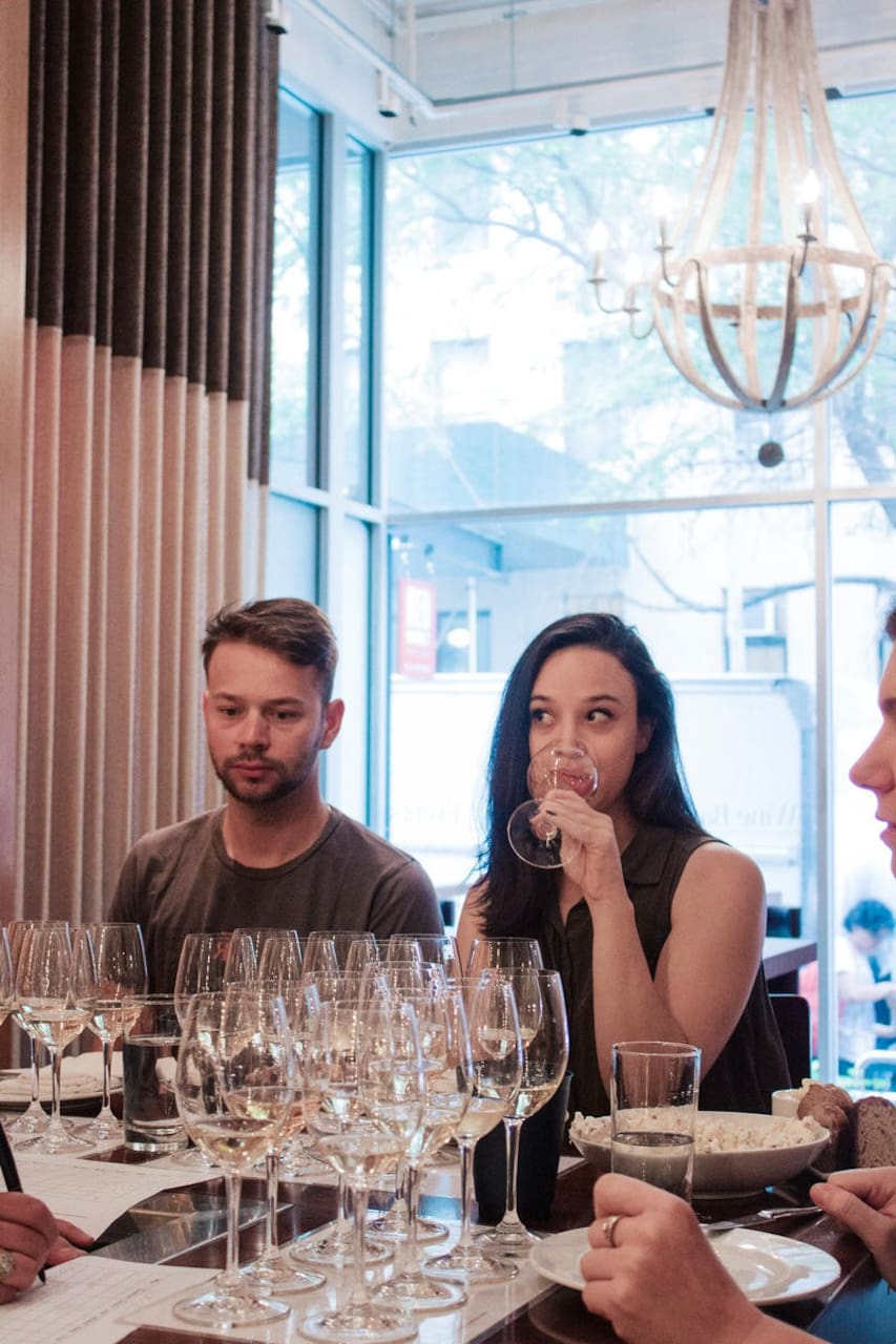 Taste wine with a Master Sommelier