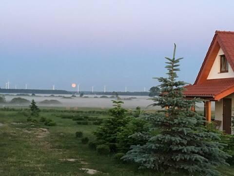 Siedlisko Natura - domek z widokiem