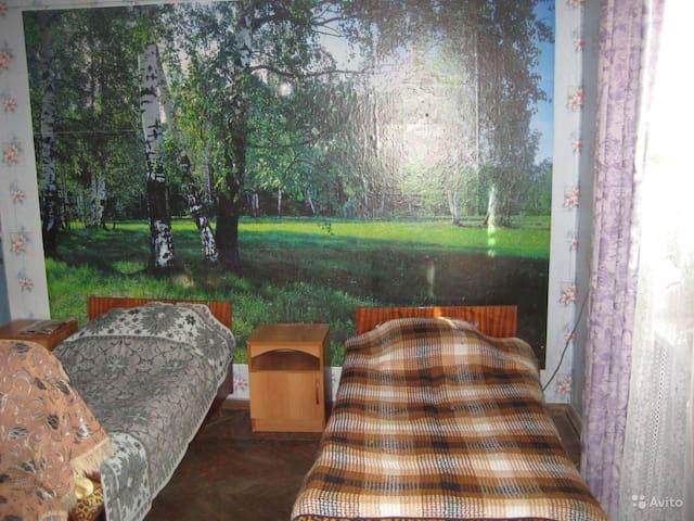 Уютная комната в доме 30м2