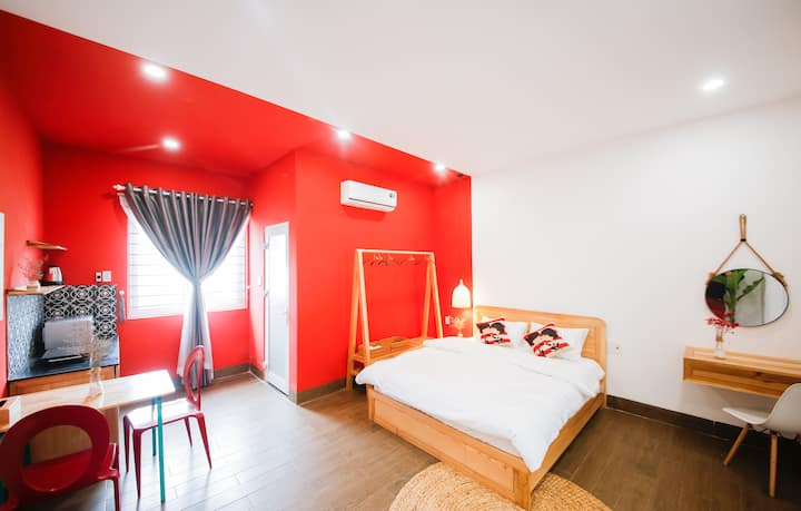 DANATRI *Double Room * Ensuite * MyKhe Beach *