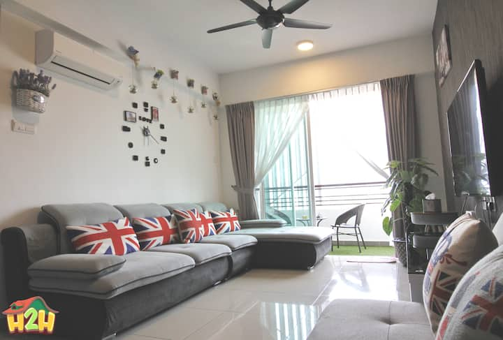 H2H - London Home@ Majestic Ipoh (10 Guests)