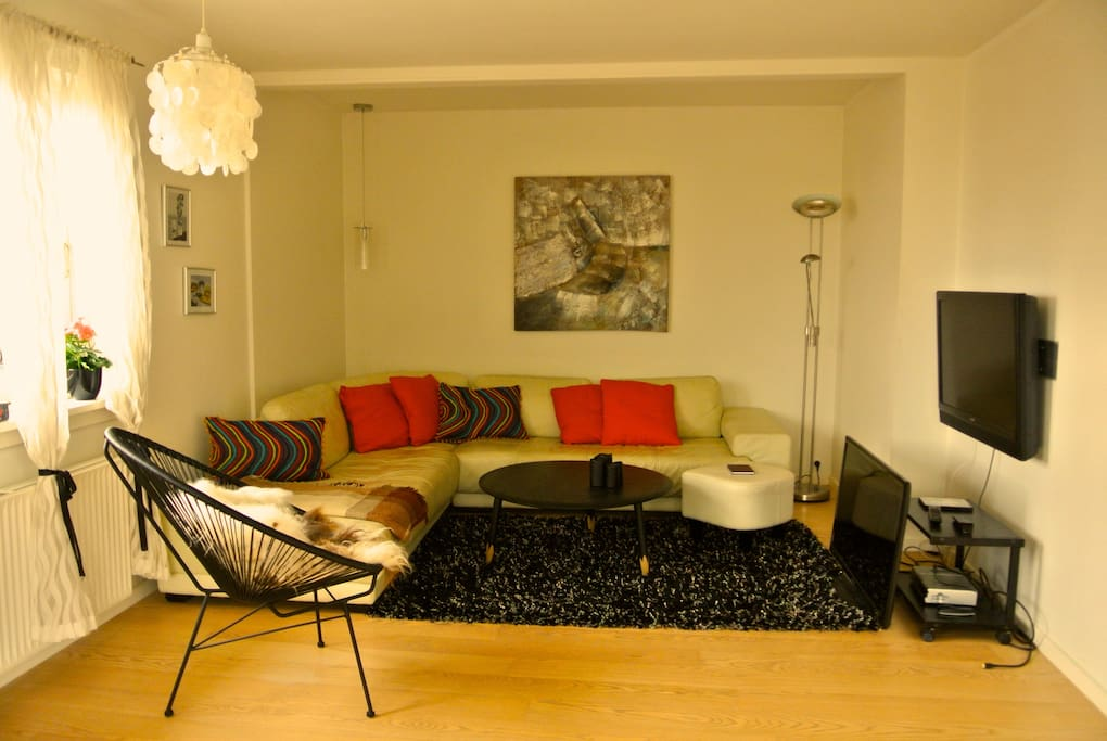 Our shared living room