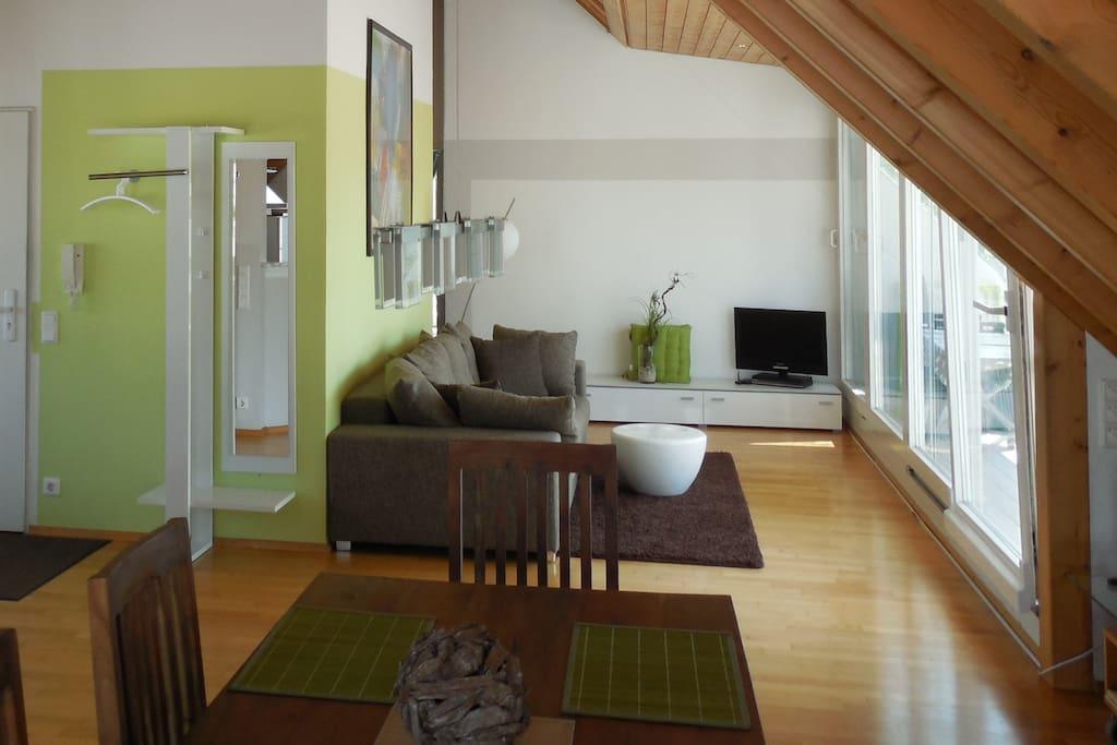 4 fewo zum wasserturm in radolfzell bodensee for Apartment bodensee