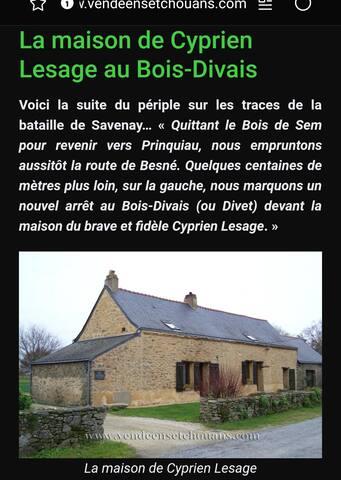 La Maison  du Bois  Divais