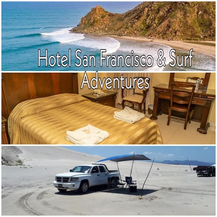 Hotel San Francisco & Surf Adventures