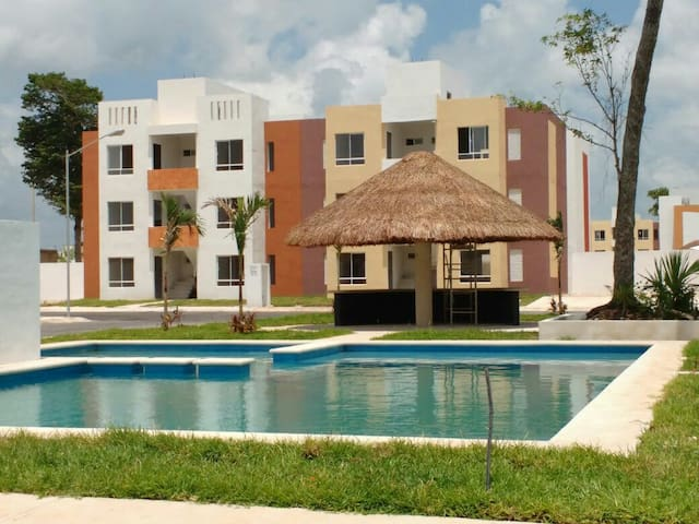 Beautiful apartment /swimming pool - Cancun - Apartment