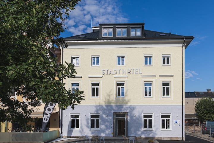Simply to feel good, Stadthotel Oberndorf.
