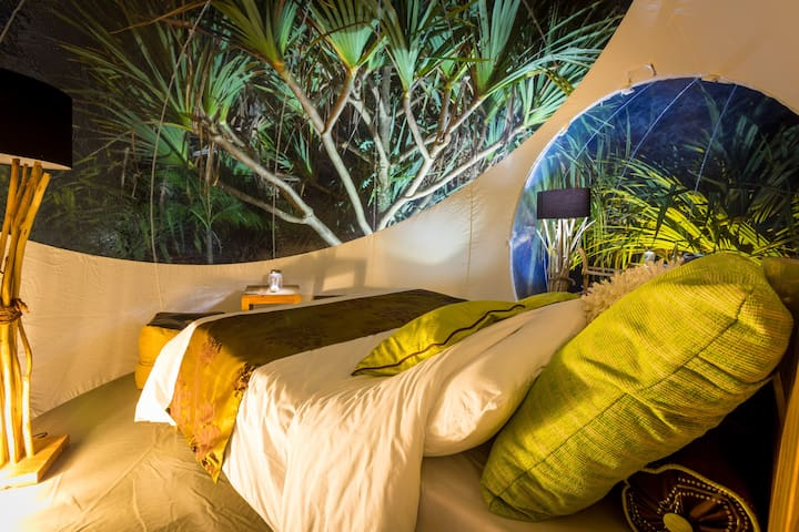Bubble Lodge : a night in the heart of Nature ! - Bois Cheri - Guesthouse