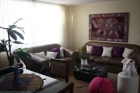 THE NICEST BEDROOM NEAR MIRAFLO. AND LIMA CENTER - Lima - Apartment