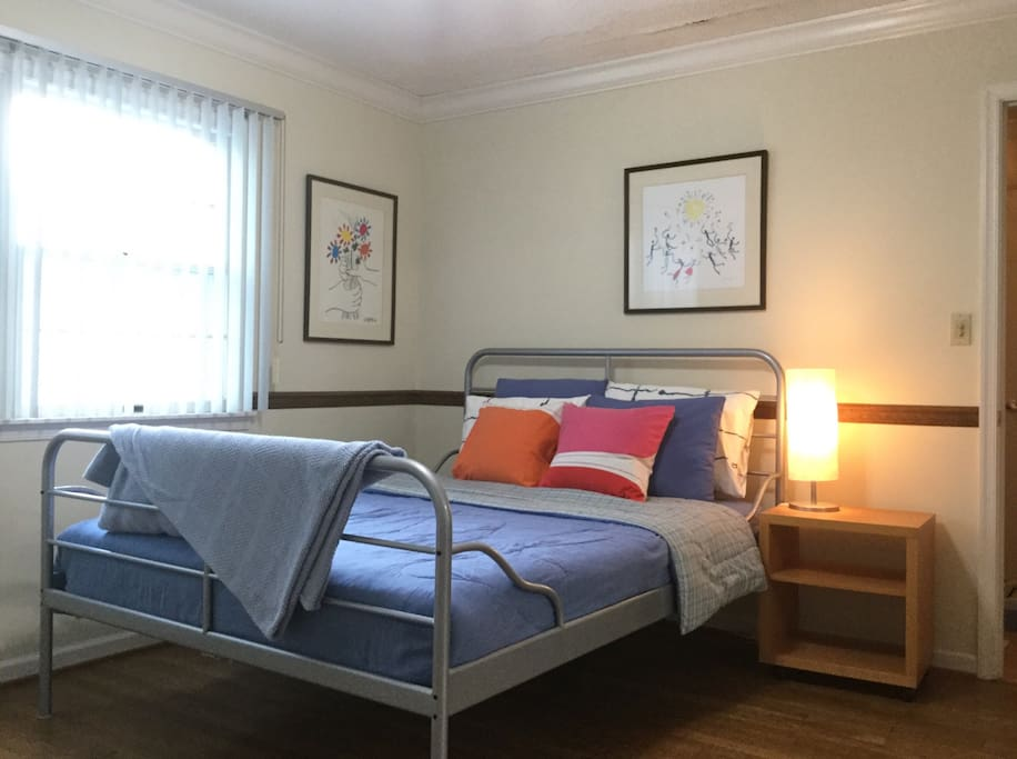 Your light-filled bedroom