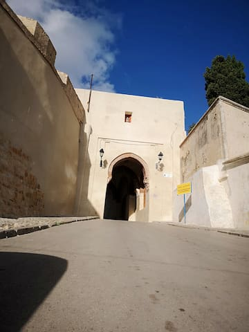 Petite maison au coeur de la kasbah